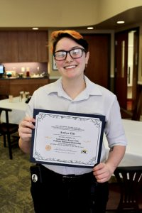 decorative image of Amber-AJ-Gill-scaled , Cantonment Rotary Awards Two Culinary Students 2021-01-07 11:09:26