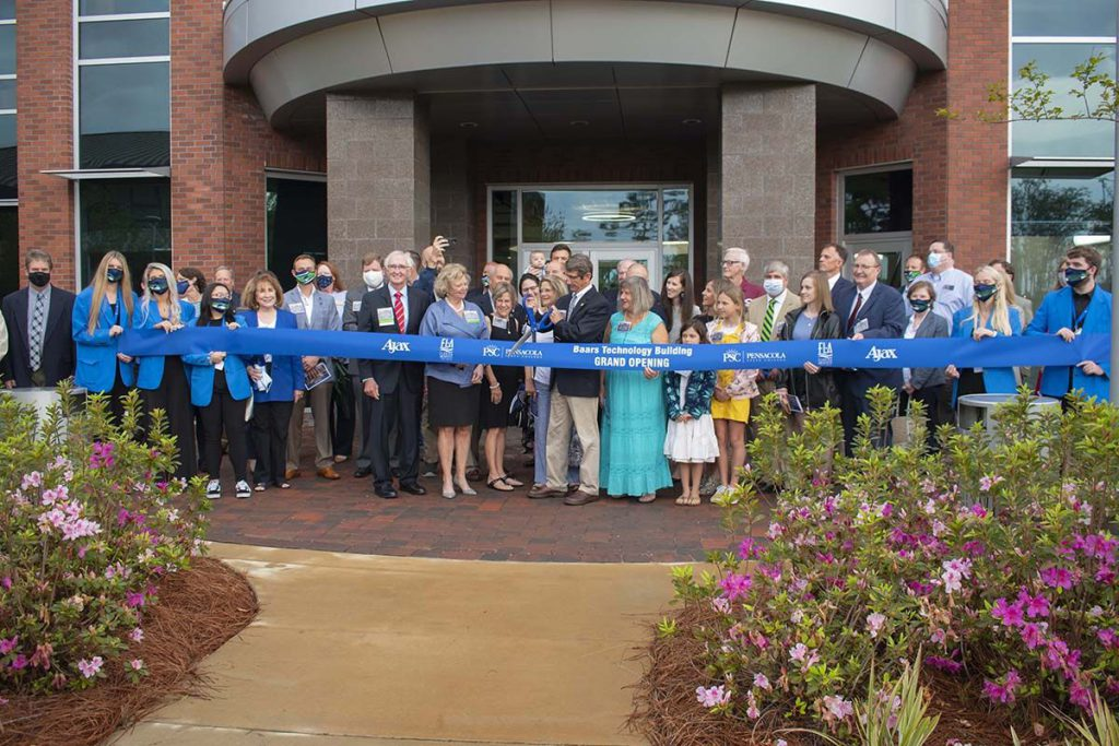 decorative image of Ribbon-Cutting-Baars , PSC unveils state-of-the-art Baars Technology Building 2021-04-20 07:43:31