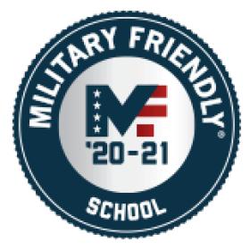 decorative image of Military-Friendly-School-Logo , Auto Draft 2021-07-30 14:07:05