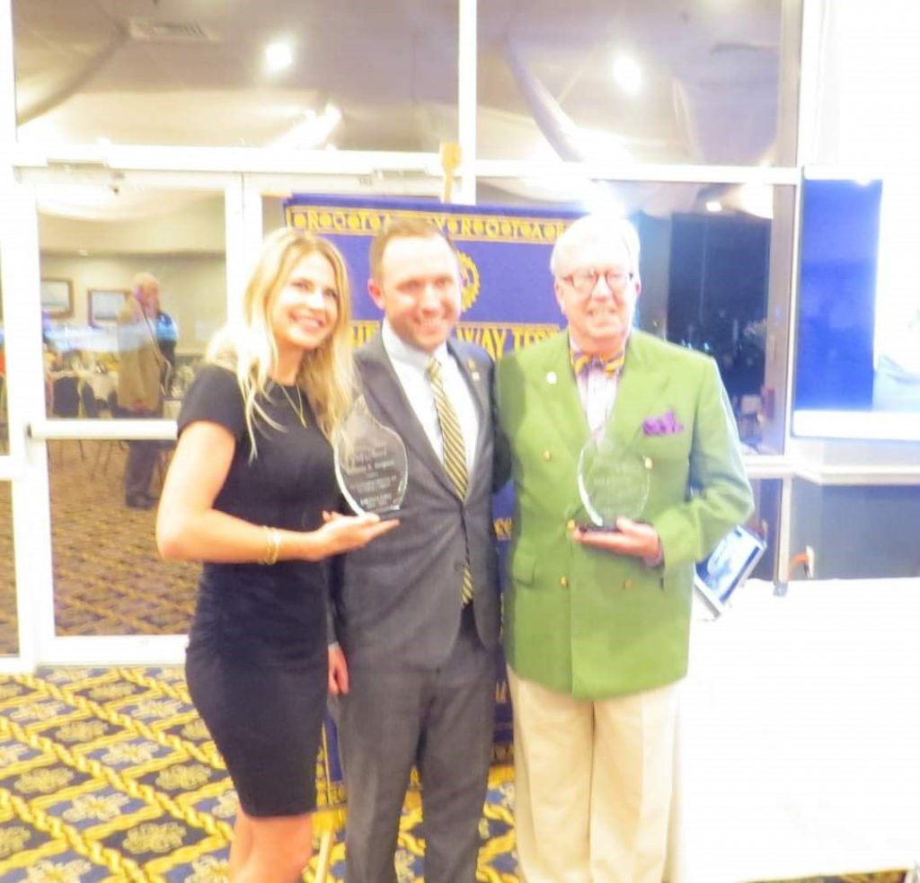 decorative image of george , Campaign Cabinet Members honored with Rotary Awards 2021-07-29 09:07:53